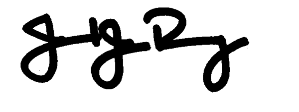 Dr. Jared J. Rumage Signature